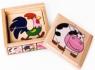 Układanka TOP BRIGHT Puzzle w pudełku wiejskie zwierzęta (1586490) od