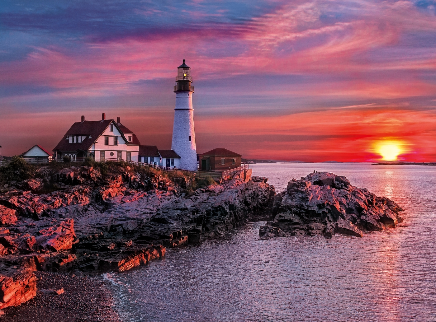 Puzzle High Quality Collection 500: Portland Head Light (35049)