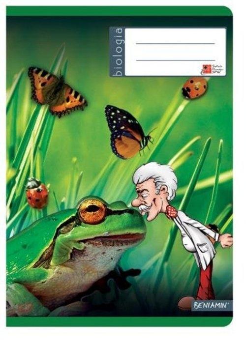 Zeszyt A5 Biologia w kratkę 60 kartek