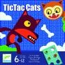 Gra taktyczna Tic Tac Cats (DJ08449)
