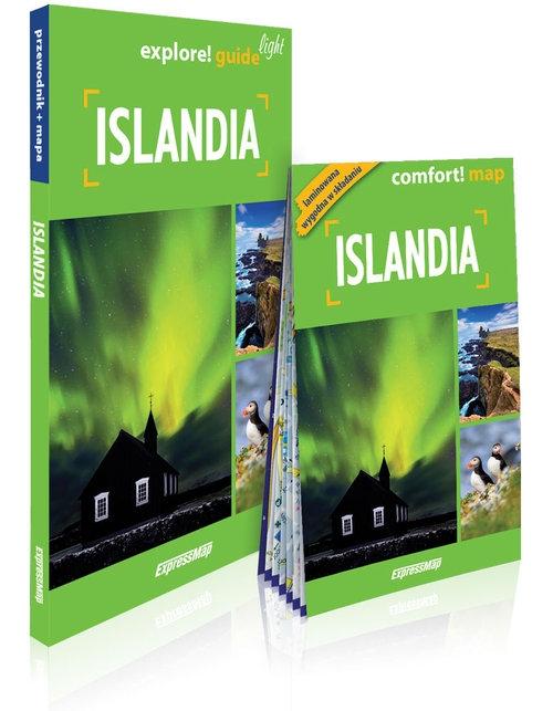 Islandia 2w1: przewodnik light + mapa