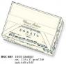 Papeteria box 10 karnetów i 10 kopert BSC 403 (BSC 403)