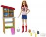 Lalka Barbie Farmerka z kurnikiem (DHB63/FXP15)