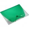 Teczka PP Titanum A4 z gumką półprzezroczysta - zielona (195175)
