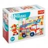 Puzzle 20 miniMaxi - Wóż strażacki 4 TREFL