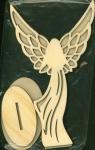 Anioł rustykalny z podstawką nr.3