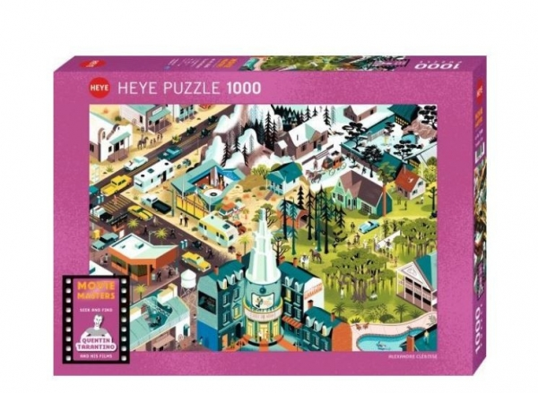Puzzle 1000 elementów Filmy Quantina Tarantino (29949)