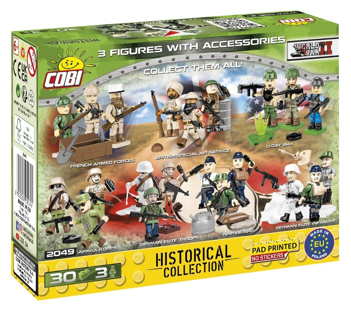 Cobi, Historical Collection: WWII Polish Army (2049)