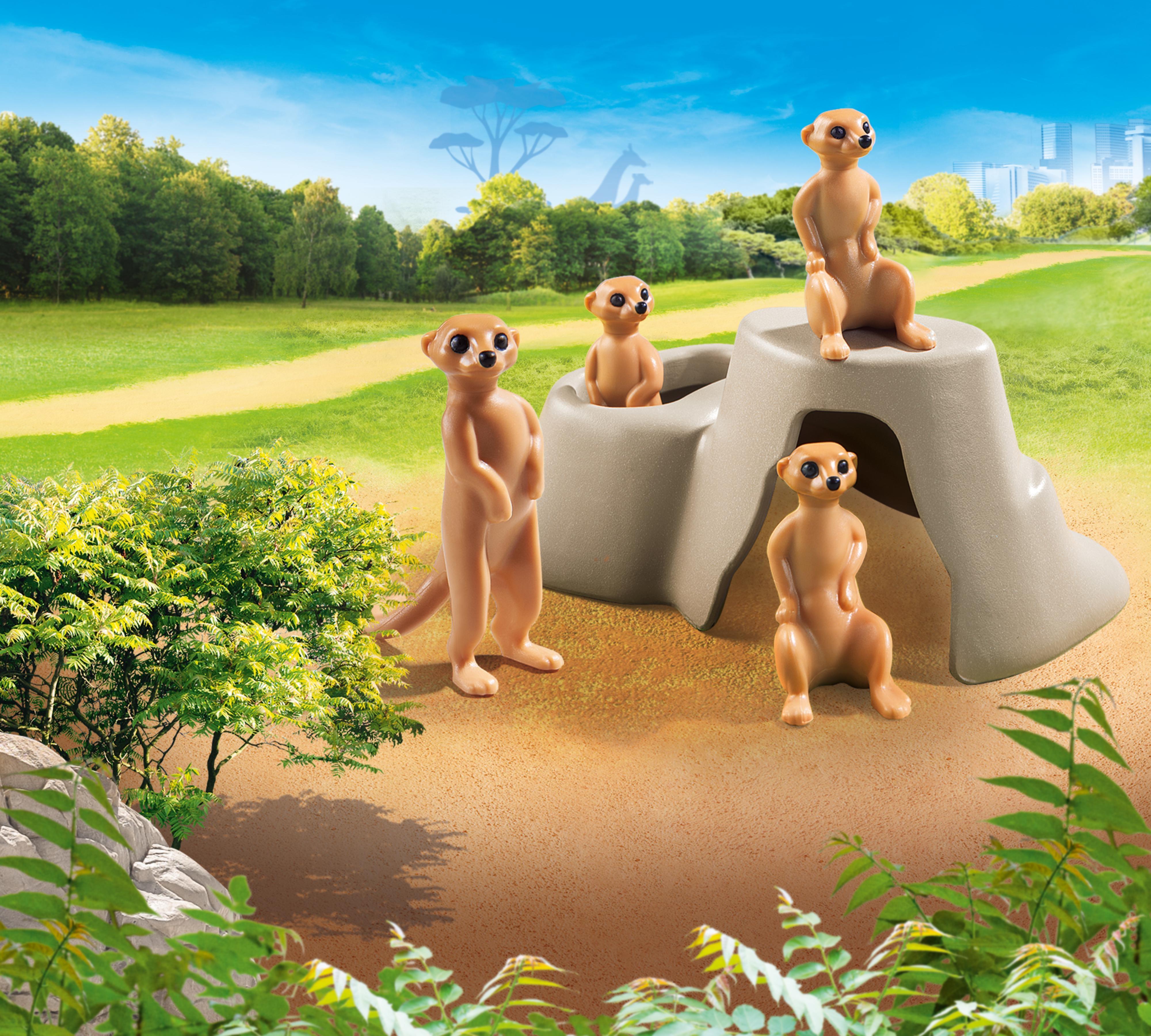 Playmobil Family Fun: Surykatki (70349)