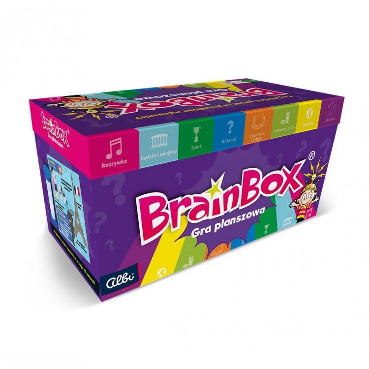 BrainBox. Gra planszowa (72240)