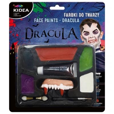 Farbki do twarzy zestaw Dracula KIDEA