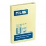 Karteczki Milan samoprzylepne 50x76 mm, żółte (85601)
