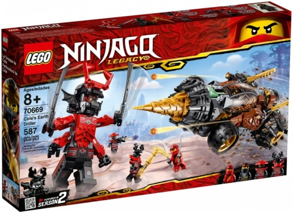 LEGO Ninjago: Wiertło Colea (70669)