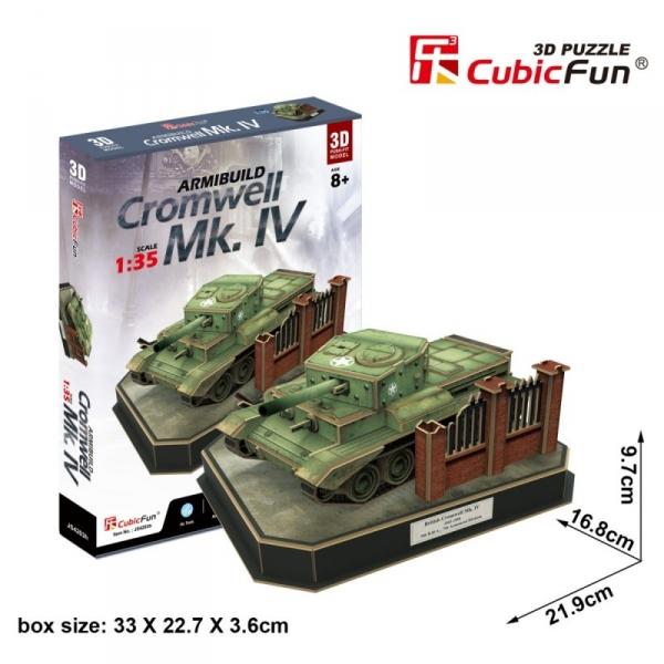 Puzzle 3D Armibuild Cromwell Mk IV 157 elementów (JS4203h)