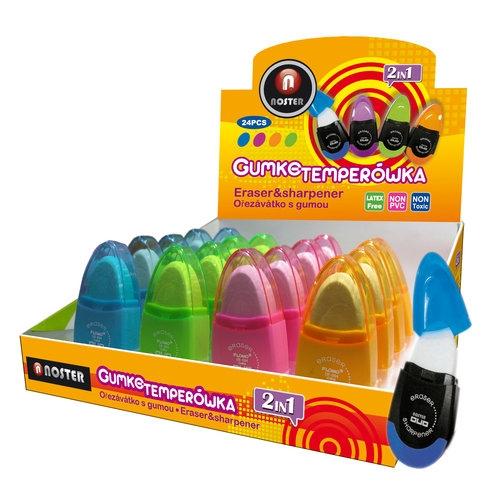 Gumko-temperówka 24 sztuki