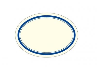 Naklejki dekoracyjne ETK 049 Niebieskie 4szt ROSSI