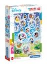 Puzzle SuperColor 60: Disney Classic (26049)