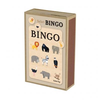 Bingo dla Dzieci Gra Planszowa Safari