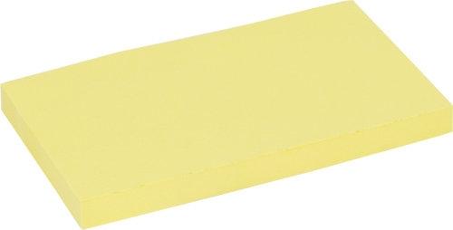 Notesy samoprzylepne żółte 75x125 mm