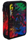 Coolpack - Jumper XL - Disney - Piórnik podwójny z wyposażeniem - Avengers