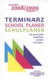 Terminarz school planer schulplaner Wrzesień 2008/sierpień2009