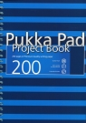 Project Book Navy A4 200 kratka niebieski