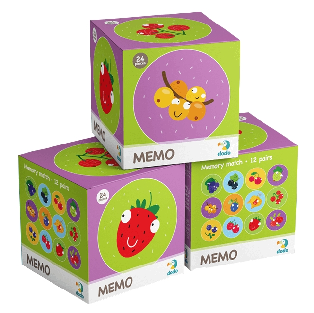 Memo mini - Owoce