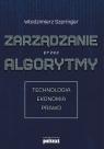 Zarządzanie przez algorytmy Szpringer Włodzimierz