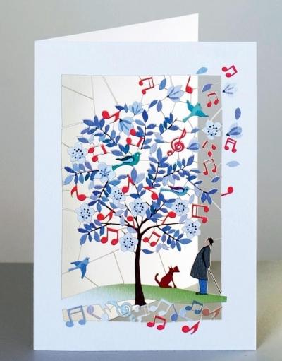 Karnet PM149 wycinany + koperta Muzyka