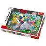 Puzzle Myszka Miki i przyjaciele Na rolkach 100 (16249)