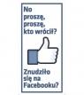 Zakładka ZK-115 magnetyczna Facebook