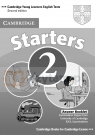 Cambridge English Starters 2 Answer Booklet