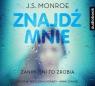 Znajdź mnie  (Audiobook) Monroe J.S.