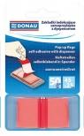 Zakładki indeksujące samoprzylepne z dyspenserem czerwone (7559001PL-04)