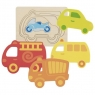 Układanka warstwowa: pojazdy (GOKI-57704)