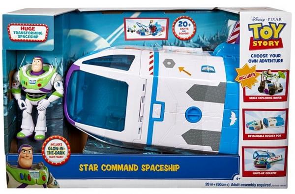 Disney Toy Story 4 - zestaw Statek kosmiczny Buzz Astral