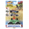 Hot Wheels Monster Trucks: Pojazd Monster Maker - Zielony (GWW13/GWW15)