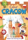 Colour Cracow Sticker and Colouring Book for children