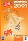 Matematyka 2001 3 Zadania gimnazjum Praca zbiorowa