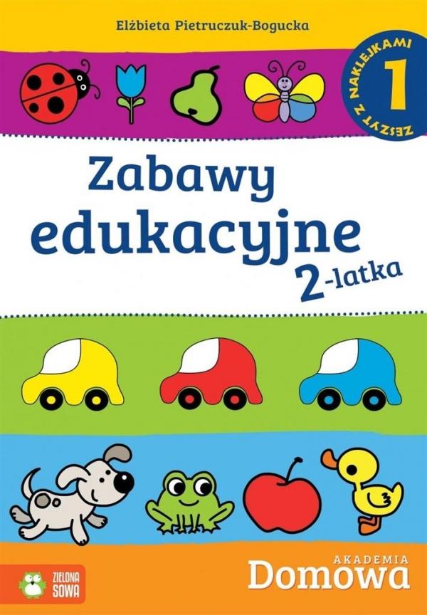 Zabawy edukacyjne 2-latka 1