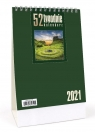 Kalendarz 2021 Biurkowy - 52T zielony CRUX praca zbiorowa