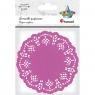 Serwetki papierowe okrągłe 11,5cm/35 szt. - fioletowe jasne (414547)