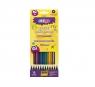 Kredki ołówkowe metaliczne 12 kolorów STRIGO