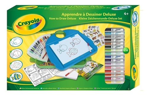 Crayola Zestaw do nauki rysowania deluxe  (12649)