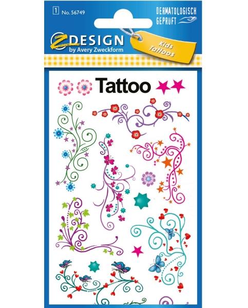 Tatuaże dla dzieci - Ornamenty (56749)