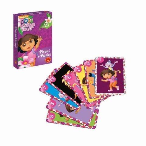 Karty Piotruś Dora poznaje świat