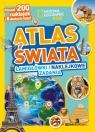 National Geographic Kids. Atlas świata. Łamigłówki i naklejkowe zadania