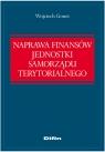 Naprawa finansów jednostki samorządu terytorialnego