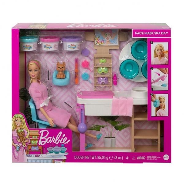 Barbie Salon Spa Maseczka na twarz Zestaw (GJR83/GJR84)