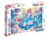 Puzzle 104 Supercolor z brokatem: Under the Sea (20149)
